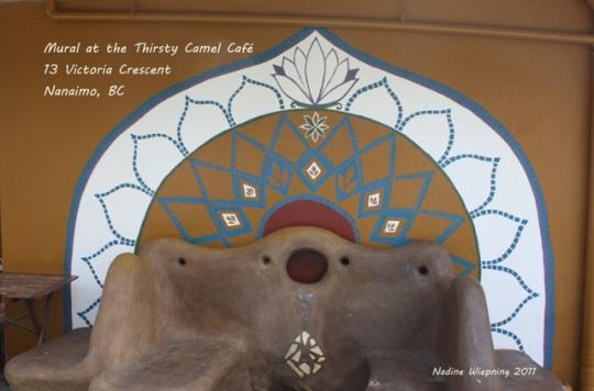 Thirsty Camel Café Mural